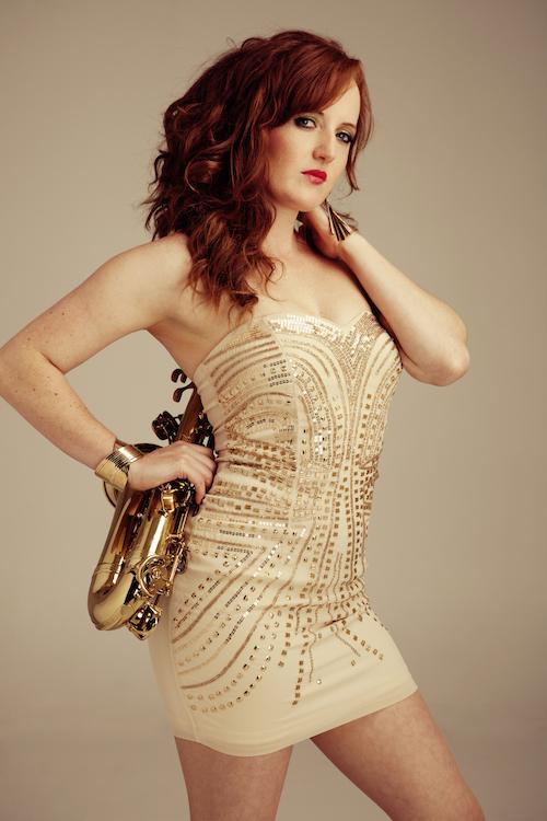 Female Saxophone Player London