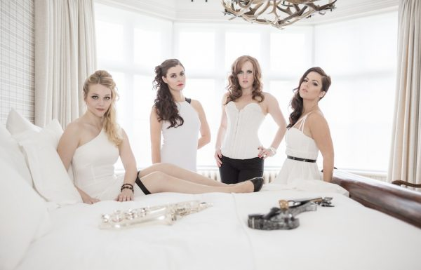 electric string quartet sahara to perform alongisde Katherine Jenkins