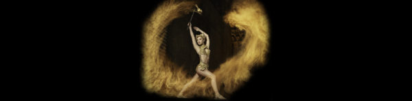 Image of female fire performer
