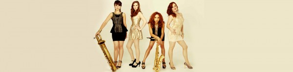 Female saxophone quartet
