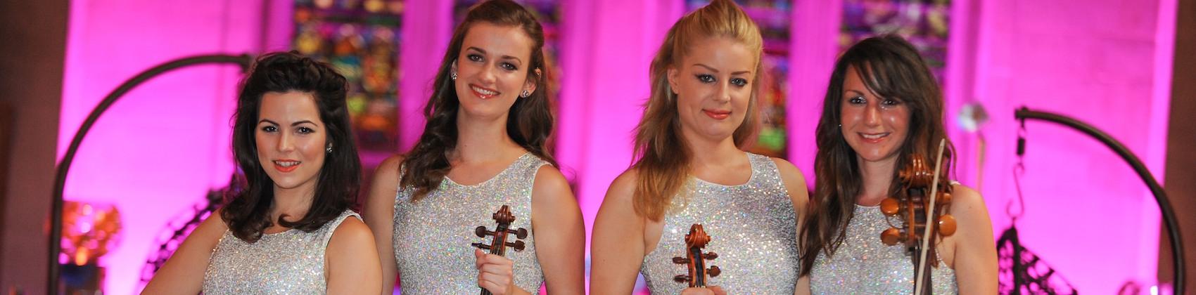 Female String Quartet Hire London   Weddings & Events