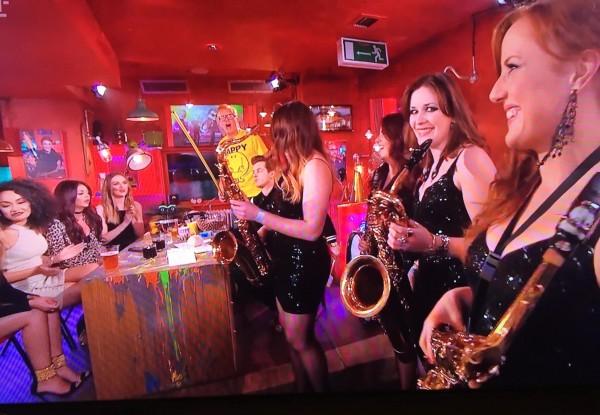 TFI Friday Brass Off - Saxophone Girls