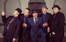 london swing band hire